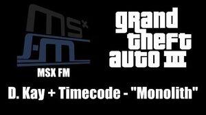 GTA III (GTA 3) - MSX FM D