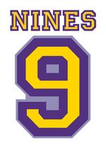 Purple Nines Logo
