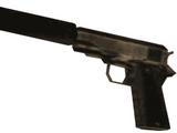 Pistola com Silenciador