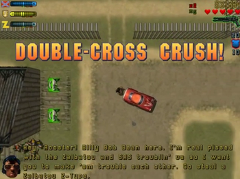 Double-Cross Crush! / Gang Car Bang!