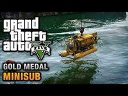 GTA 5 Mission 29 Minisub (Xbox 360)