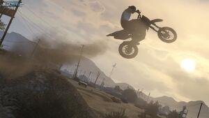 Sanchez stunt.GTAV