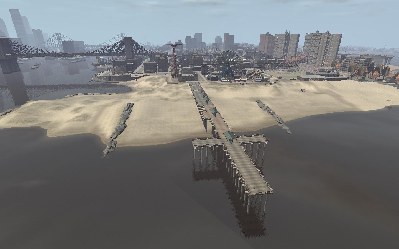 Plaża w Firefly Island