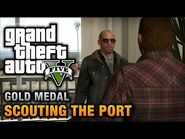 GTA 5 Mission 28 Scouting the Port (Xbox 360)