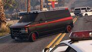Declasse Burrito de gang GTA Online Aperçu publicitaire Rockstar Games Social Club