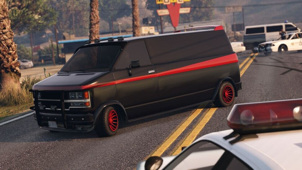 Declasse Burrito de gang GTA Online Aperçu publicitaire Rockstar Games Social Club.jpg