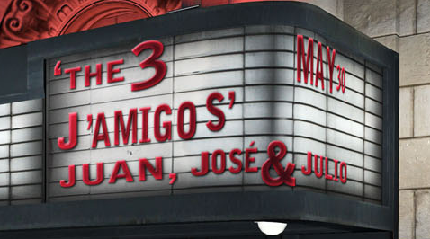 The 3 J'amigos