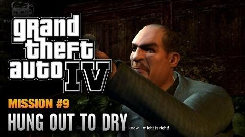 GTA 4 - Mission -9 - Hung Out to Dry (1080p)