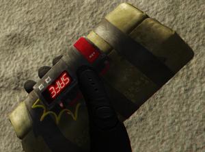 Sticky bomb FPS GTA V