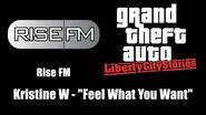 "GTA Liberty City Stories - Rise FM Kristine W - ""Feel What You Want"""