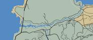 Zancudo River GTAV Map