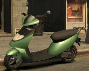 Faggio GTA IV (Stevie)