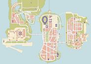 Wyjątkowe skoki w GTA III (mapa)