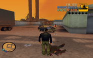 GTA III Claude and Carl after Marty dead