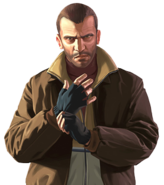 Niko Bellic Transparent-GTAIV