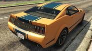 Vapid Dominator vue arrière GTA V