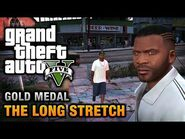 GTA 5 Mission 9 The Long Stretch (Xbox 360)
