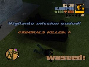 Wasted-GTA3VigilanteMission