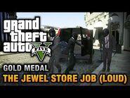 GTA 5 Mission 13 The Jewel Store Job (Xbox 360)
