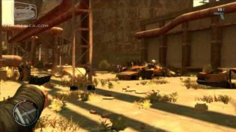 GTA IV The Lost and Damned Mission 3 - It's War
