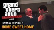 GTA Liberty City Stories Mobile - Intro & Mission -1 - Home Sweet Home
