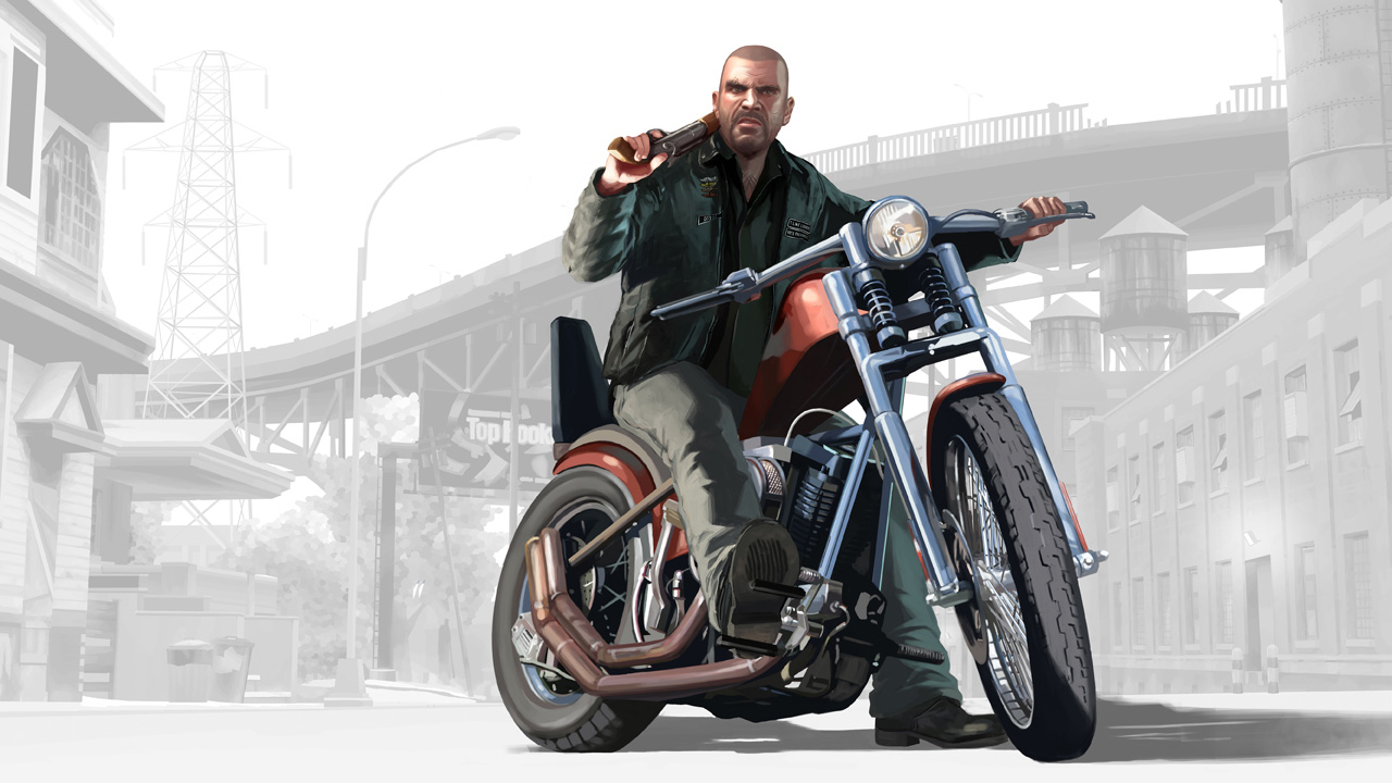 Artworks de GTA IV The Lost and Damned