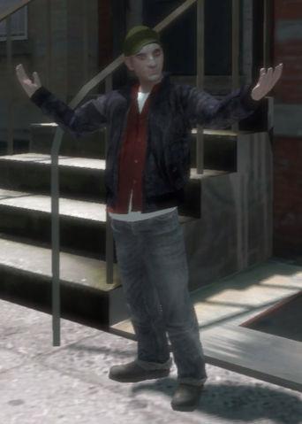 Случайные персонажи в GTA IV