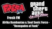 "GTA Vice City Stories - Fresh FM Afrika Bambaataa & Soul Sonic Force - ""Renegades of Funk"""
