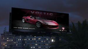 Voltic Billboard on La Puerta Freeway