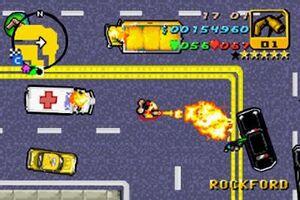Flamethrower-GTA Advance