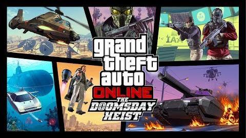 Bande-annonce officielle de GTA Online Le Braquage de la fin du monde