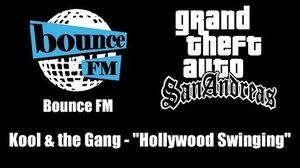 "GTA San Andreas - Bounce FM Kool & the Gang - ""Hollywood Swinging"""