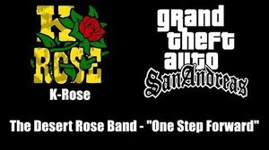 "GTA San Andreas - K-Rose The Desert Rose Band - ""One Step Forward"""