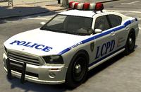 Police Cruiser (Buffalo) GTA The Ballad of Gay Tony (vue avant).png