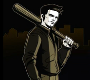 GTA III - Claude (10th Anniversary) artwork
