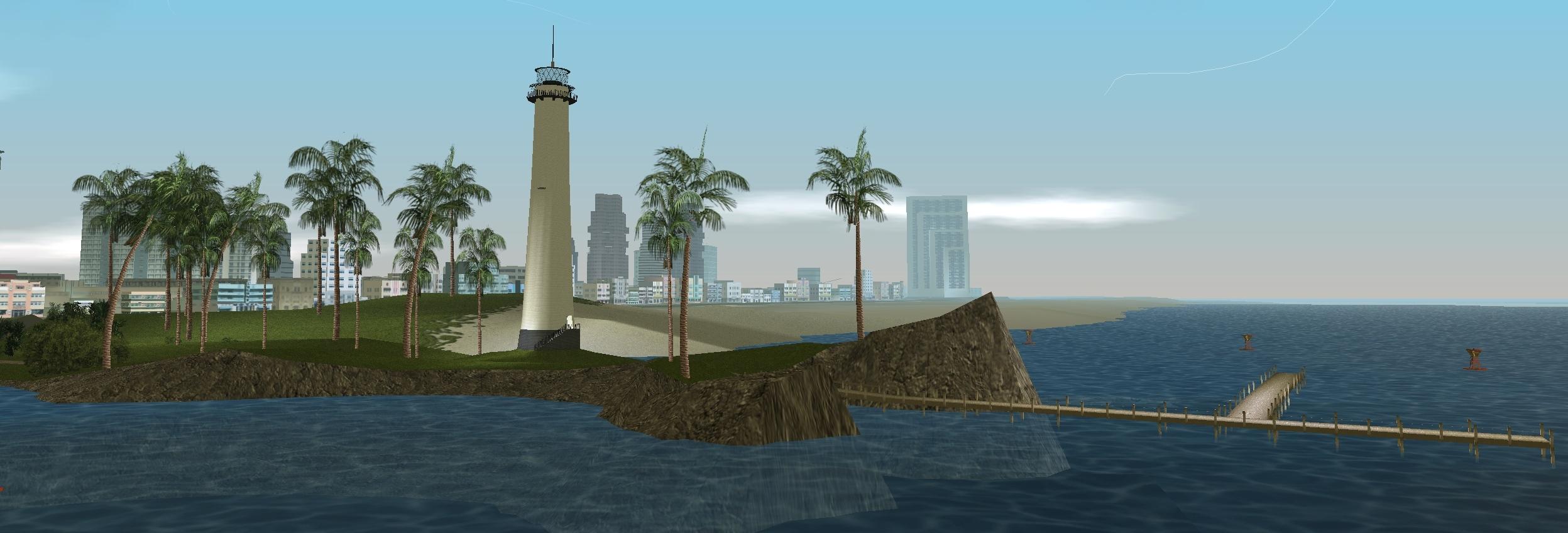 Latarnia morska w Vice City