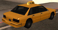 Taxi vue-arrière GTASA