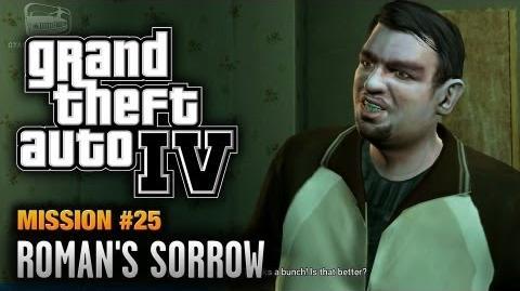 GTA 4 - Mission 25 - Roman's Sorrow (1080p)