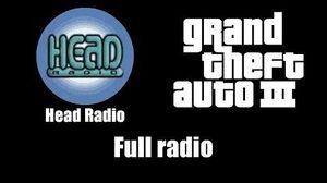 GTA III (GTA 3) - Head Radio Full radio