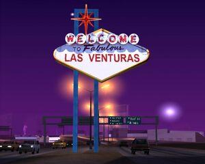 Стенд Добро пожаловать в Лас-Вентурас