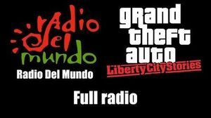 GTA Liberty City Stories - Radio Del Mundo Full radio