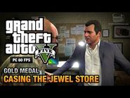 GTA 5 Mission 11 Casing the Jewel Store (PC)