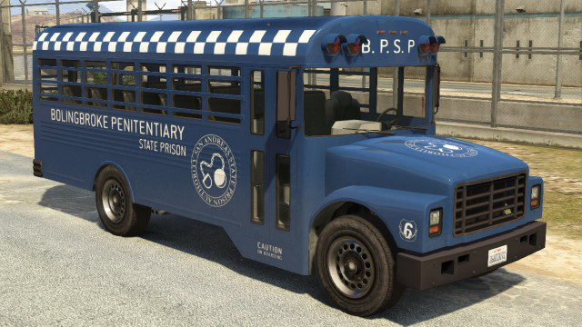 Bus pénitentiaire