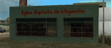 Église Baptiste De La Régénération