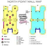 North Point Mall Mapa