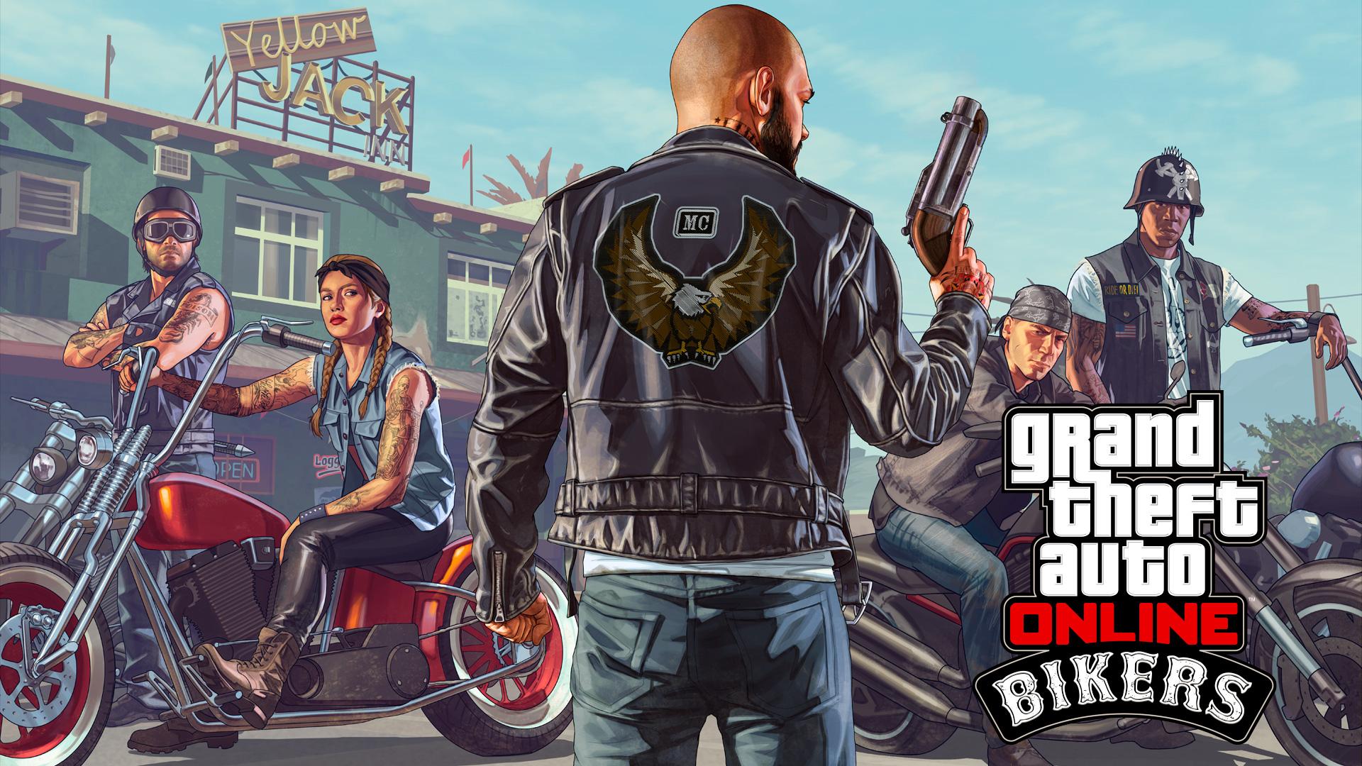 GTA Online: Motoqueiros
