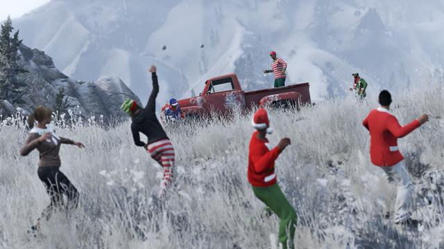 Surprise festive