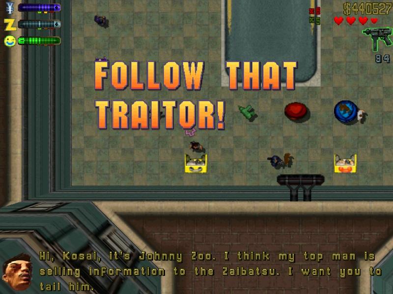 Follow That Traitor!
