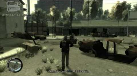 GTA IV The Lost and Damned Mission 1 - Clean and Serene