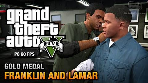 GTA 5 PC - Intro & Mission 1 - Franklin and Lamar Gold Medal Guide - 1080p 60fps